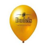 Metallic-Luftballon mit Druck | mittel