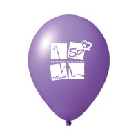 Luftballon mit Druck | klein
