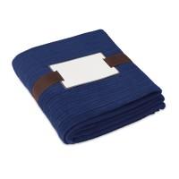 Fleece-Decke CAP CODE | Blau