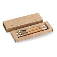 Schreibset aus Bambus BAMBOOSET