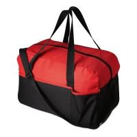 Zweifarbige Sporttasche mit Frontfach yourChoice