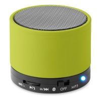 Bluetooth Lautsprecher, rund Round Bass | Grün