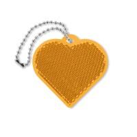 Herzförmiger Reflektor Catchh | Orange