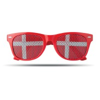 Fan Sonnenbrille Flag Fun | Bunt