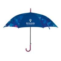 "23""-Automatik-Regenschirm Rubber"