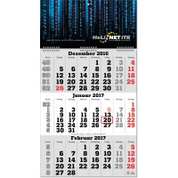 "3-Monats-Kalender ""Classic-Wire"""