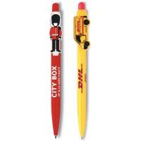 Kugelschreiber mit Individuellem Clip Logoclip-Kugelschreiber Olimpia günstig bedrucken lassen