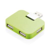 Reise USB Hub, grün