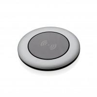 Aluminium 5W Wireless-Charger, grau