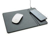 Mousepad mit Wireless-5W-Charging Funktion, schwarz