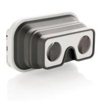 faltbare Silikon VR-Brille, weiß