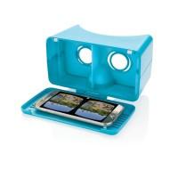 einstellbare VR-Brille, blau