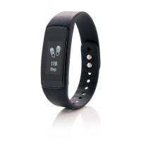 Activity-Tracker mit Touchscreen, schwarz