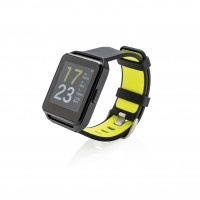 Activity Watch mit Farbdisplay, schwarz