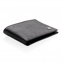 RFID Anti-Skimming Portemonnaie, schwarz