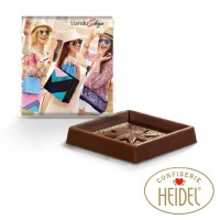 Schokoladen Quadrat Täfelchen