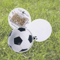 Samen-Klappkärtchen Fußball, Sportrasen