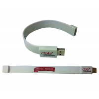 USB-Stick Armband Classic in allen Farben