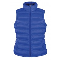 Ladies Ice Bird Padded Gilet | Royalblau