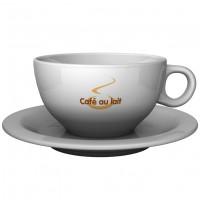 Roma Café au Lait Tasse mit Untertasse