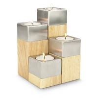 4er Teelichter-Set Luce