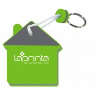 Schaumstoff-Schlüsselanhänger | Haus