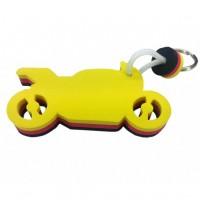 Schwimmfähiger Schaumstoff-Schlüsselanhänger | Motorrad 1