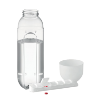 Flasche mit Pillendosierer Bottle Pill