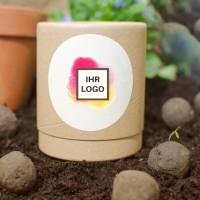 10 Seedbombs in Stülp-Logodose | Bienenfreund