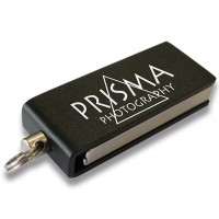 Aluminium-USB-Stick Micro Twister als Werbeartikel