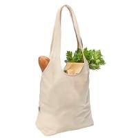 Bio-Baumwoll City-Einkaufstasche | 4-farbiger Logodruck