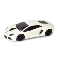Computermaus Lamborghini Aventador 1:32 WHITE als Werbemittel in Weiß