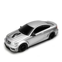 Computermaus Mercedes Benz C63 AMG 1:32 SILVER als Werbemittel in Silber