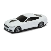 Computermaus Ford Mustang 1:32 WHITE als Werbemittel in Weiß