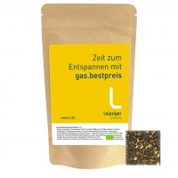 Bio Schwarztee Wildfrüchte, ca. 47g | Standbeutel Midi