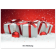 Classic Schoko-Adventskalender BASIC | Geschenke mit roter Schleife | 2-farb. Werbedruck