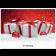 Classic Schoko-Adventskalender BASIC | Geschenke mit roter Schleife | 1-farb. Werbedruck