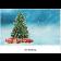 Classic Schoko-Adventskalender BASIC | Weihnachtsbaum im Schnee | 2-farb. Werbedruck