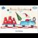 Classic Schoko-Adventskalender BASIC | Weihnachtsmann on Tour | 2-farb. Werbedruck