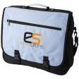 Anchorage Konferenztasche | Blau mit Logo-Beispiel