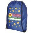 Oriole Premium Sportbeutel | Blau mit Logo-Beispiel