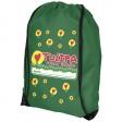 Oriole Premium Sportbeutel | Grün mit Logo-Beispiel