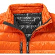 Detail-Ansicht Fairview Damen leichter Daunen Bodywarmer | Orange | XS