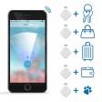 Ob Schlüssel, Geldbeutel, Haustier oder Gepäck - mit dem SmartFinder tracken Sie alles.