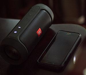 Ovale Bluetooth Lautsprecherbox