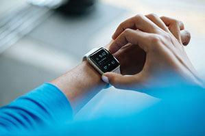 Fitness-Armband mit digitaler-Anzeige