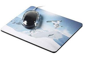 Druckbeispiel Mousepad