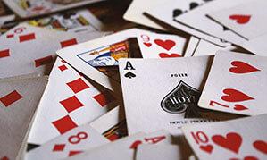 Poker Spielkarten