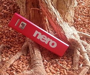 Druckbeispiel Powerbank Nero