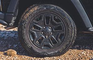 Platter Auto-Reifen